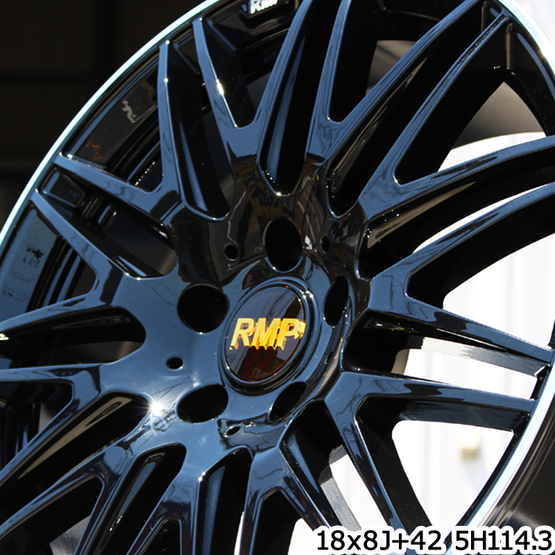 DUNLOP スタッドレスタイヤ ダンロップ WINTER MAXX 01 ウィンターマックス WM01 スタッドレス 225/50R18 MANARAY RMP-211F ホイールセット 4本 18インチ 18 X 7 +48 5穴 114.3