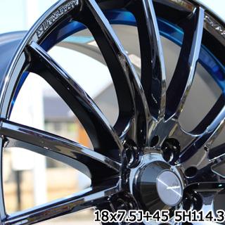 TOYOTIRES トーヨー トランパス MPZ ミニバン TRANPATH サマータイヤ 225/55R18 WEDS WedsSport ウェッズ スポーツ SA-35R ホイールセット 4本 18インチ 18 X 7 +53 5穴 114.3