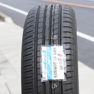 YOKOHAMA ヨコハマ ブルーアース エース AE50 サマータイヤ 195/60R16 HotStuff G.speed G-02 ブラック ホイールセット 4本 16インチ 16 X 6.5 +48 5穴 114.3