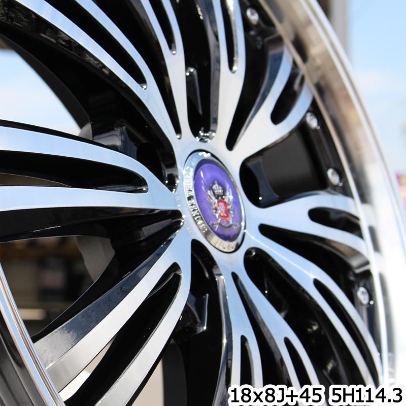 コンチネンタル UltraContact  UC6 For SUV 235/55R19 KYOHO 共豊 STEINER シュタイナー WX5 ホイールセット 4本 19インチ 9月末迄の特価 19 X 8 +38 5穴 114.3