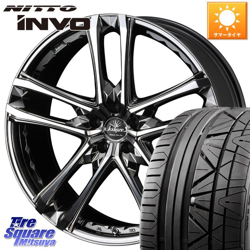 【期間限定】 【5 EVO/5はG/W大セール2000円クーポン発行 ホイール】 CX-5 WEDS クレンツェ シンティル 168 NITTO EVO ホイール 20インチ 20 X 8.5J +48 5穴 114.3 NITTO INVO インボ ニットー サマータイヤ 245/45R20, EST premium:980e5de0 --- booking.thewebsite.tech