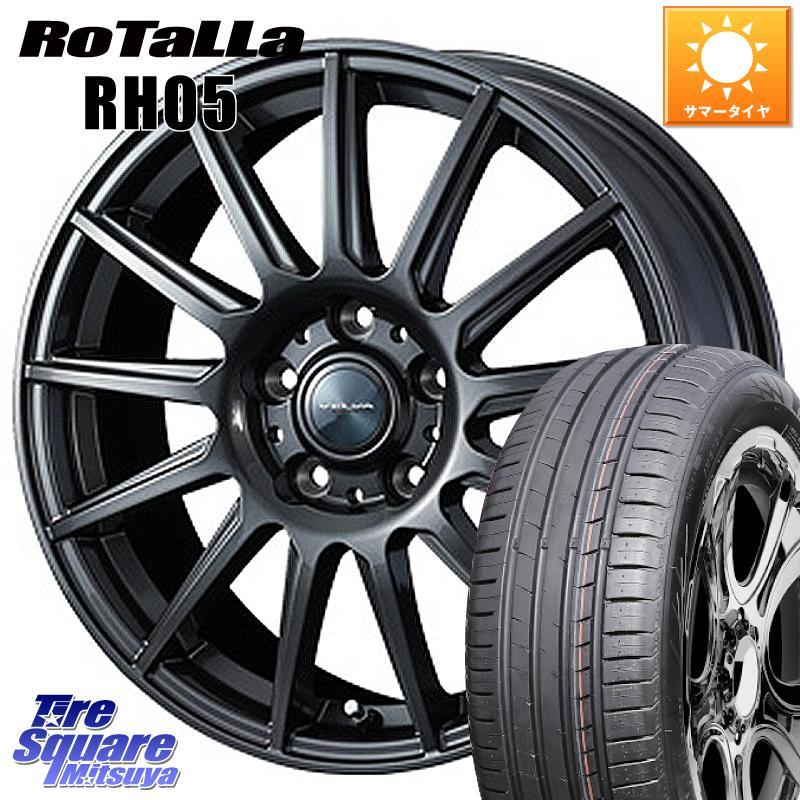 Rotalla 185/65R15 ヴェルバ 5穴 平座仕様(トヨタ車専用) 15 【欠品時は同等商品のご提案します】サマータイヤ 【11/20はエントリーで最大35倍】【取付対象】 フィット RH05 114.3 イゴール 15インチ ホイールセット X WEDS 6.0J +50