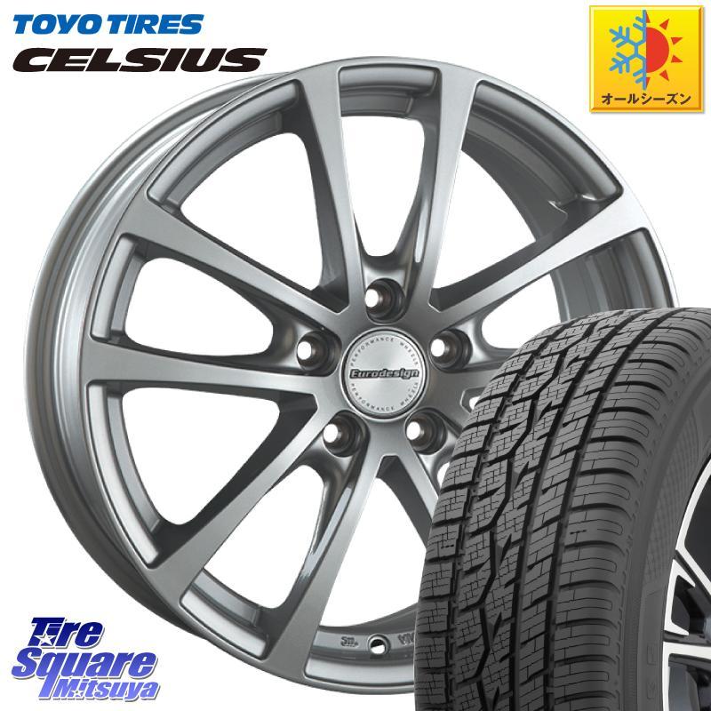 最新の激安 【3 +30 ホイールセット/5はスーパーSALE 最大P37倍&1000円クーポン有】【取付対象】 TOYOTIRES 6.5J(VW) トーヨー タイヤ CELSIUS オールシーズンタイヤ 215/65R16 阿部商会 EuroDesign FOX-RF ホイールセット 16インチ 16 X 6.5J(VW) +30 5穴 112, 東海砂利:87f21721 --- kventurepartners.sakura.ne.jp
