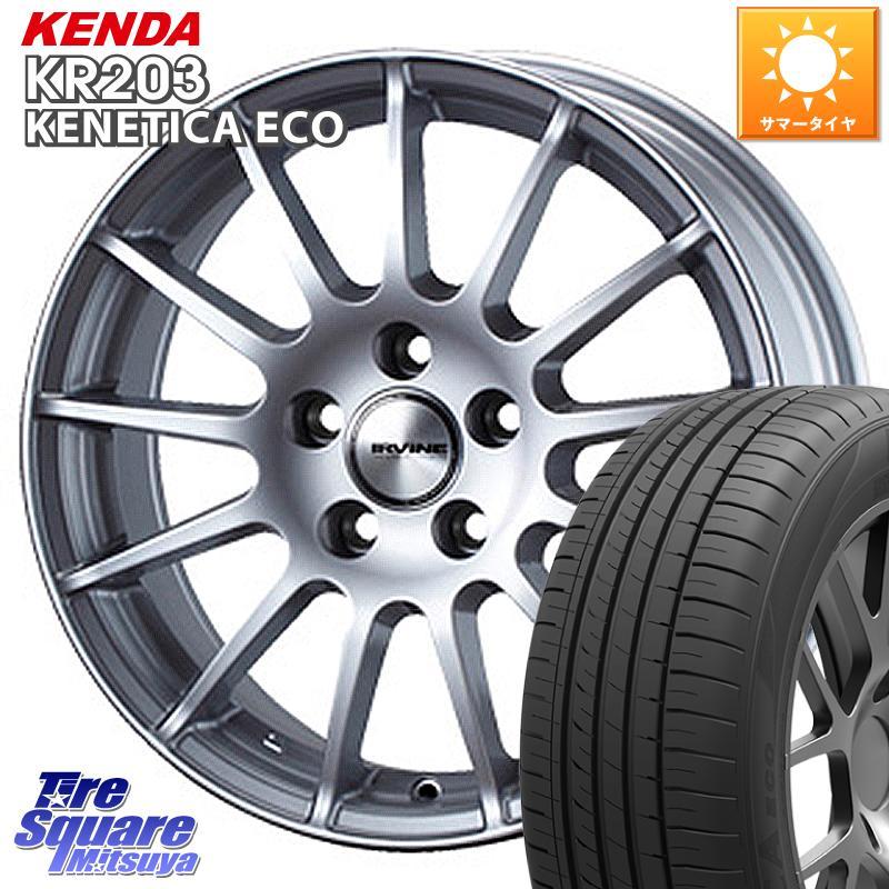 2シリーズ F22 3 15はエントリーで最大25倍 取付対象 WEDS IR67040T ウェッズ IRVINE F01 ホイールセット 16インチ 16 ご注文で当日配送 X BMW14125 サマータイヤ KR203 ケンダ KENETICA 205 モデル着用&注目アイテム 7.0J 120 5穴 +40 55R16 ECO KENDA