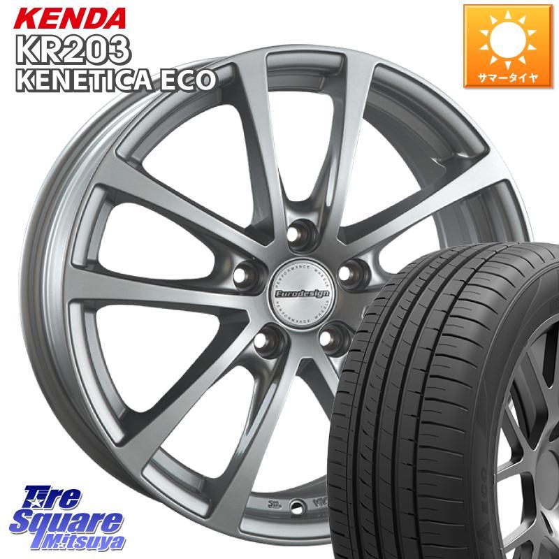 3 15はエントリーで最大25倍 取付対象 阿部商会 <セール&特集> EuroDesign FOX-RF ホイールセット 16インチ 16 X 6.5J VW KENETICA ケンダ 112 卓出 サマータイヤ 5穴 60R16 +35 KENDA ECO KR203 215
