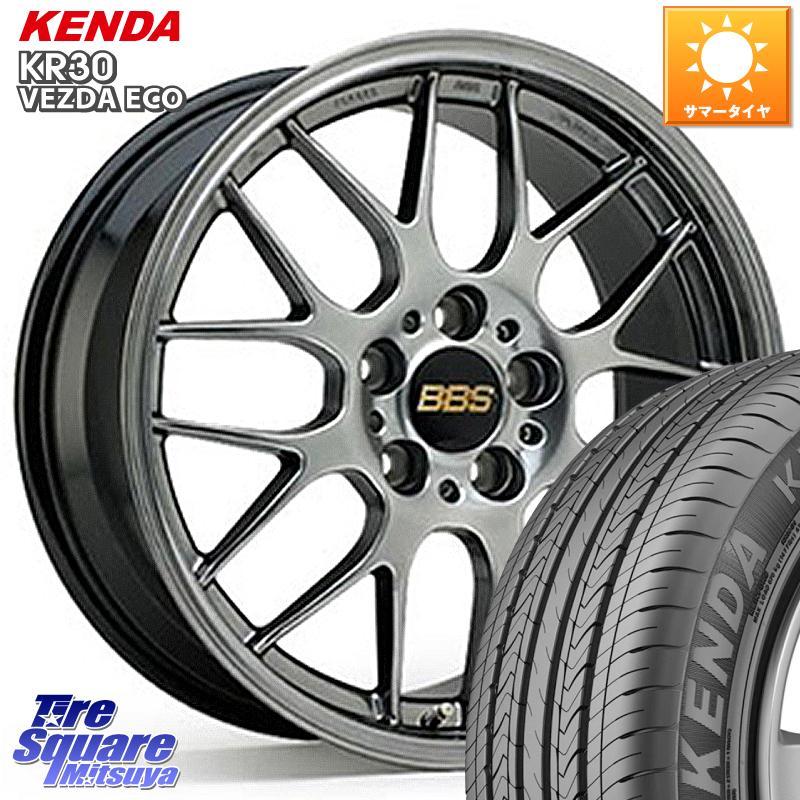 8 20はお盆明け初売りセール CX-30 CX-3 BBS RG-R 鍛造1ピース ホイールセット 18インチ 18 X 7.5J 45 5穴 114.3KENDA ケンダ VEZDA ECO KR30 サマータイヤ 215 55R18