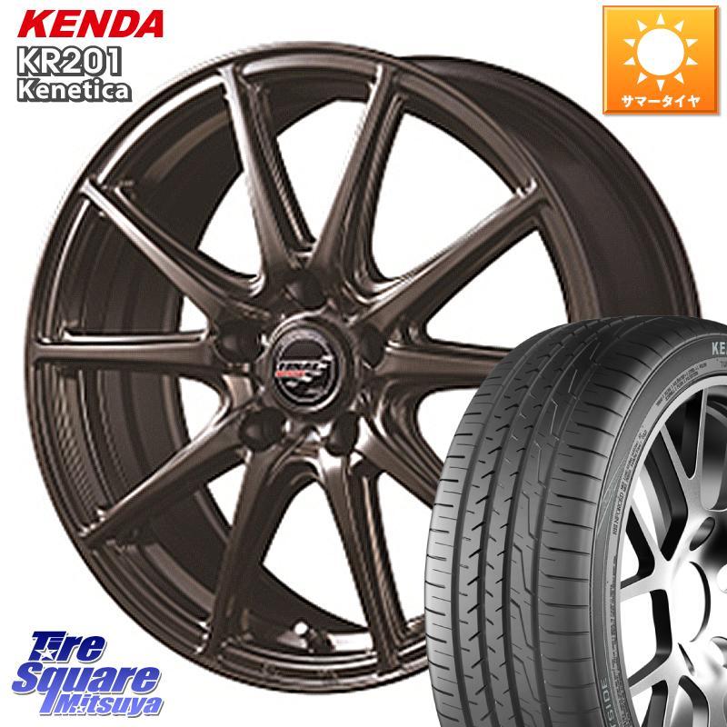 ヴェゼル エリシオン 3 15はエントリーで最大25倍 取付対象 無料 MANARAY FINAL セール 登場から人気沸騰 SPEED GR-Volt ホイールセット 18インチ 18 ケンダ 7.0J KENDA サマータイヤ +55 225 114.3 5穴 ミニバン 50R18 X KR201