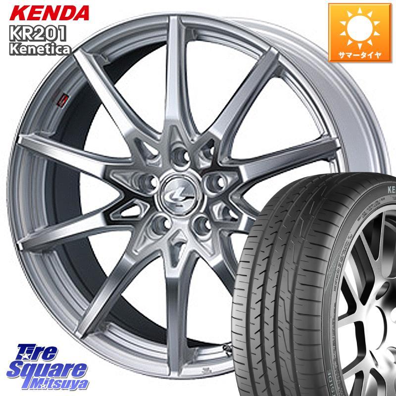 8 20はお盆明け初売りセール WRX S4 ステップワゴン レヴォーグ WEDS 特価 ウェッズ Leonis レオニス SV ホイールセット 17インチ 17 X 7.0J 53 5穴 114.3KENDA ケンダ KR201 ミニバン サマータイヤ