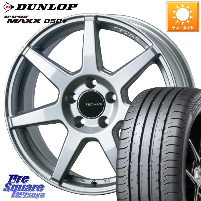 X1 F48 X2 F39 3 15はエントリーで最大25倍 取付対象 TECMAG Type 207R 17 X 7.0J BMW14125 ダンロップ 050+ スポーツ マックス 安売り DUNLOP +52 55R17 5穴 ショッピング SPORT サマータイヤ 225 112 SP MAXX