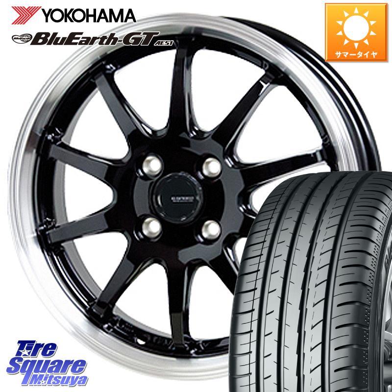 ES 300h ES300h レクサス GS GS300 GS300h GS350 GS450 GS450h マークX アコード 定番から日本未入荷 YOKOHAMA ヨコハマ ブルーアースGT AE51 X 信用 114.3 ホイールセット 18 G.speed HotStuff 45R18 18インチ P-04 7.5J 235 サマータイヤ 5穴 +38 軽量設計
