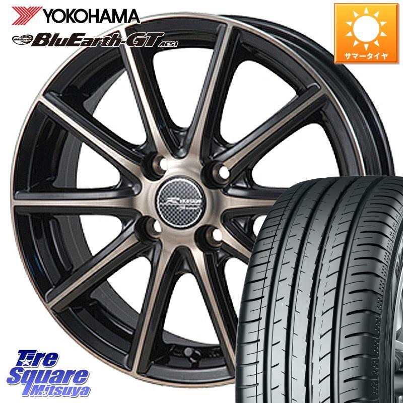 新商品 カローラフィールダー YOKOHAMA ヨコハマ ブルーアースGT AE51 サマータイヤ 215 45R17 4年保証 MONZA R sprint VERSION +42 17 ホイールセット 4穴 X 7.0J 100