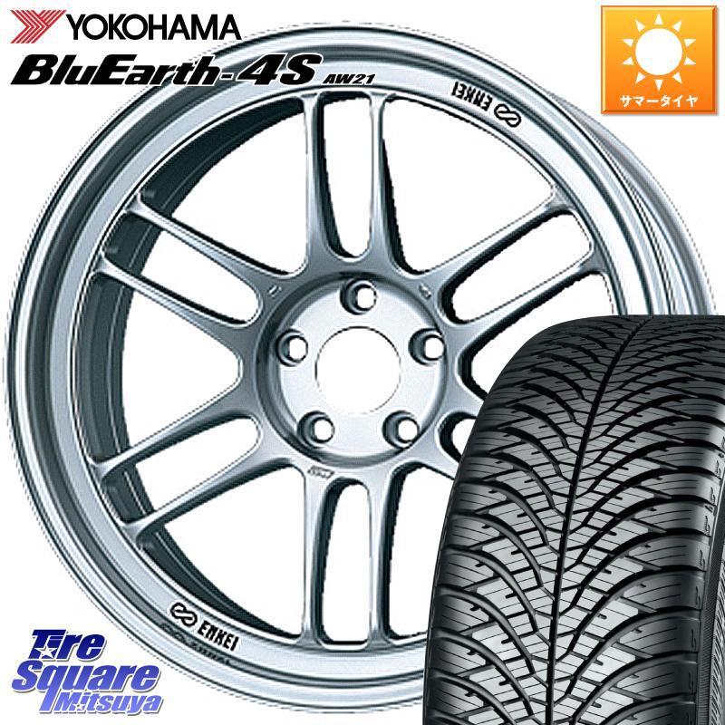 8 20はお盆明け初売りセール YOKOHAMA ヨコハマ BluEarth 4S AW 21 オールシーズンタイヤ 205 55R16 ENKEI エンケイ Racing RPF1 ホイールセット 16 X 7.0J 43 5穴 114.3