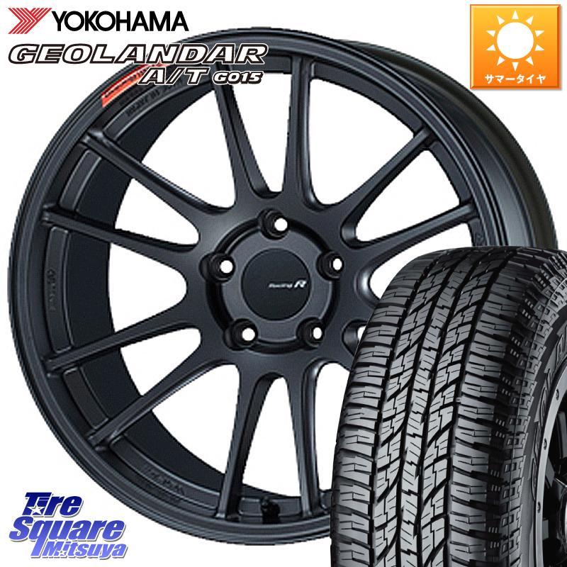 日本に 【5 YOKOHAMA Racing/5はG/W大セール2000円クーポン発行】 NX ENKEI エンケイ 235/55R18 Racing Revolution GTC01RR ホイール 18 X 8.5J +42 5穴 114.3 YOKOHAMA ヨコハマ ジオランダー AT A/T G015 サマータイヤ 235/55R18, ブランドショップ Reine:aefe3020 --- 14mmk.com