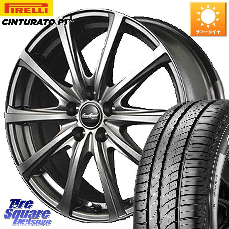 X 17 +47 P1 (数量限定特価) サマータイヤ ユーロスピード 114.3 5穴 ピレリ 225/60R17 【11/5エントリーで最大35倍】【取付対象】 EuroSpeed ホイールセット フォレスター 7.0J チンチュラート P1 平座仕様(トヨタ車専用) V25 平面座 15インチ Cinturato MANARAY