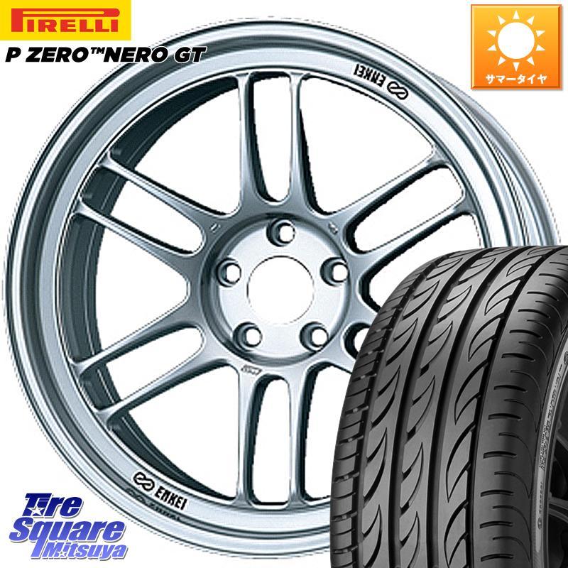 フィット デミオ 3 15はエントリーで最大25倍 取付対象 ENKEI エンケイ Racing RPF1 ホイールセット 16 X 7.0J ピーゼロ NERO 新色 ZERO 4穴 GT 195 +43 45R16 ネロ ピレリ サマータイヤ 日本正規代理店品 100 P