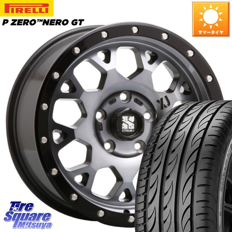 【最新入荷】 【3/5はスーパーSALE X 最大P37倍&1000円クーポン有 205/45R17】【取付対象】 ZERO MLJ XJ04 XTREME-J エクストリームJ ホイールセット 17インチ 17 X 7.0J +42 5穴 114.3 ピレリ P ZERO ピーゼロ NERO ネロ GT サマータイヤ 205/45R17, BOOKS 21:e9455d72 --- kventurepartners.sakura.ne.jp