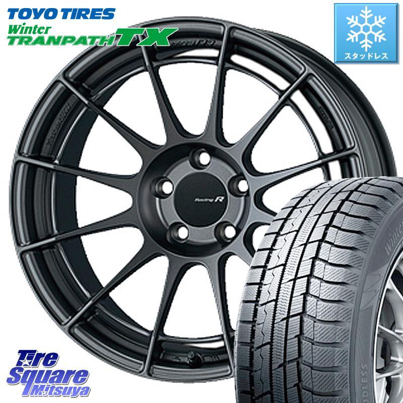 8 20はお盆明け初売りセール エクシーガ TOYO ウィンター トランパス TX スタッドレスタイヤ 215 50R17 ENKEI エンケイ Racing Revolution NT03RR ホイールセット 17 X 7.0J 40 5穴 100