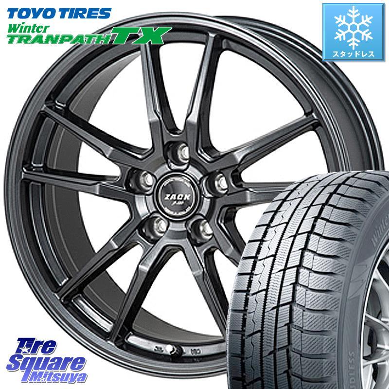 8 20はお盆明け初売りセール TOYO ウィンター トランパス TX スタッドレスタイヤ 225 45R18 Japan三陽 ZACK JP-520 ホイールセット 18インチ 18 X 8.0J 40 5穴 114.3