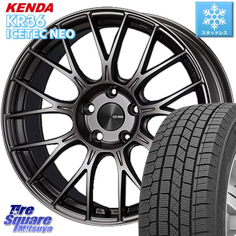 KENDA ICETEC NEO KR36 2020年製 ケンダ スタッドレスタイヤ 165/55R15 ENKEI エンケイ PerformanceLine PFM1 ホイールセット 15インチ 15 X 5.0J +45 4穴 100