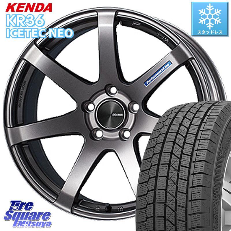 ソリオ KENDA ICETEC NEO KR36 2020年製 ケンダ スタッドレスタイヤ 165/60R15 ENKEI エンケイ PerformanceLine PF07 ホイールセット 15 X 5.0J +45 4穴 100