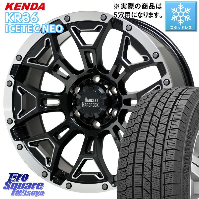 KENDA ICETEC NEO KR36 2020年製 ケンダ スタッドレスタイヤ 215/50R17 HotStuff ハードロック エルバート ホイールセット 17インチ 17 X 7.0J +38 5穴 114.3