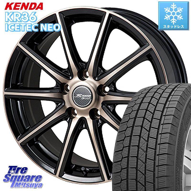 KENDA ICETEC NEO KR36 2020年製 ケンダ スタッドレスタイヤ 235/55R18 MONZA R VERSION sprint ホイールセット 18 X 7.5J +38 5穴 114.3