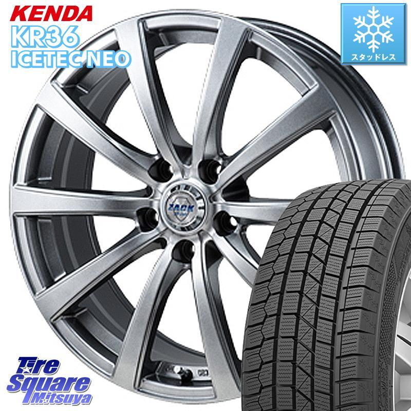 KENDA ICETEC NEO KR36 2020年製 ケンダ スタッドレスタイヤ 185/55R16 Japan三陽 ZACK ザック JP-110 10本スポーク ホイールセット 16インチ 16 X 6.5J +48 5穴 114.3