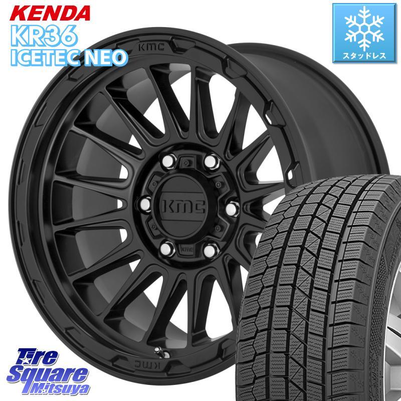 KENDA ICETEC NEO KR36 2020年製 ケンダ スタッドレスタイヤ 215/65R16 KMC KM542 Impact ホイール セット 16インチ 16 X 7.0J +30 5穴 114.3