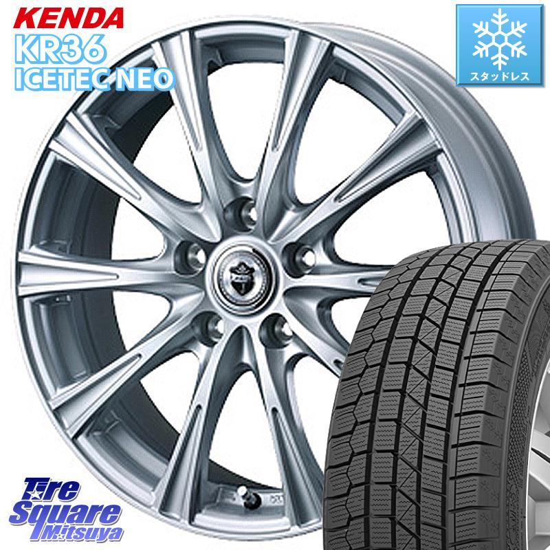 KENDA ICETEC NEO KR36 2020年製 ケンダ スタッドレスタイヤ 185/60R15 WEDS 36536 ジョーカーショット 在庫 平座仕様(トヨタ車専用) 15インチ 15 X 6.5J +40 5穴 100