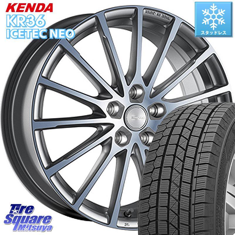 エリシオン エルグランド KENDA ICETEC NEO KR36 2020年製 ケンダ スタッドレスタイヤ 215/65R16 ブリヂストン ECOFORM エコフォルム CRS 171 ホイールセット 16インチ 16 X 6.5J +53 5穴 114.3