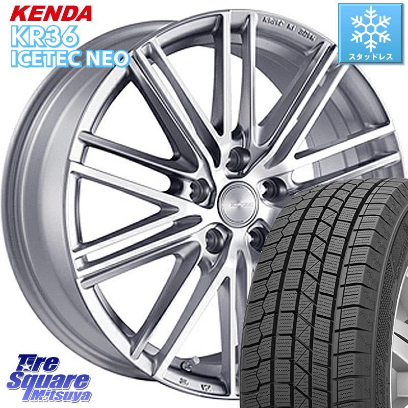 KENDA ICETEC NEO KR36 2020年製 ケンダ スタッドレスタイヤ 215/70R16 ブリヂストン ECOFORME エコフォルム CRS 161 ホイールセット 16インチ 16 X 6.5J +45 5穴 114.3