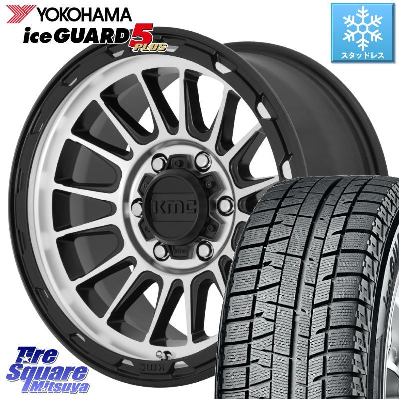 8 20はお盆明け初売りセール アルファード YOKOHAMA ice GUARD5 IG50プラス アイスガード ヨコハマ スタッドレスタイヤ 215 65R16 KMC KM542 Impact ホイール セット 16インチ 16 X 7.0J 30