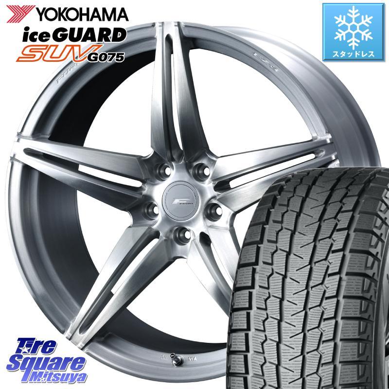大人気の RX YOKOHAMA iceGUARD SUV G075 アイスガード ヨコハマ スタッドレスタイヤ 265/45R21 WEDS F ZERO FZ-3 FZ3 鍛造 FORGED ホイールセット21インチ 21 X 9.0J +35 5穴 114.3, リリリモール 824e244d