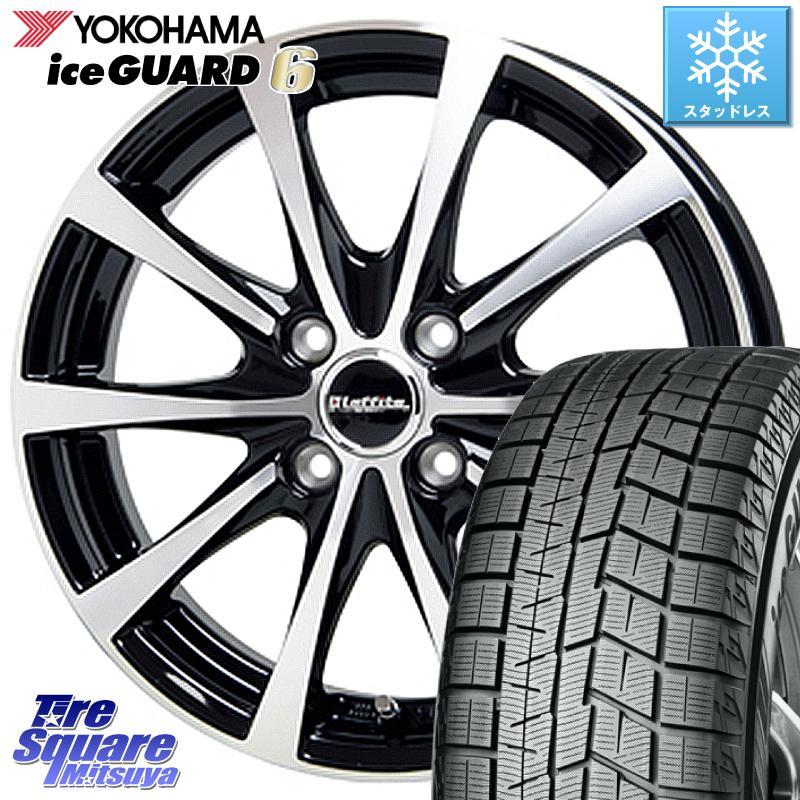 タンク YOKOHAMA iceGUARD6 ig60 アイスガード ヨコハマ スタッドレスタイヤ 175/55R15 HotStuff ラフィット LE-03 ホイールセット 15インチ 15 X 5.5J +43 4穴 100