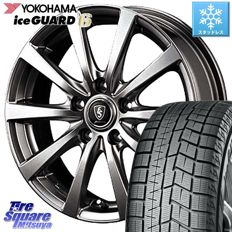 8 20はお盆明け初売りセール プリウスα YOKOHAMA iceGUARD6 ig60 XL アイスガード ヨコハマ スタッドレスタイヤ 225 45R18 MANARAY EUROSPEED ユーロスピード G10 ホイールセット 18インチ 18