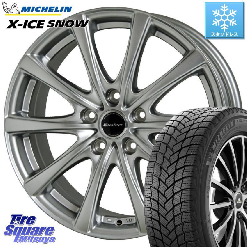 ミシュラン X-ICE SNOW エックスアイススノー XICE SNOWスタッドレス 正規品 215/65R16 HotStuff エクスタープラス2 ホイールセット 16インチ 16 X 6.5J +48 5穴 100