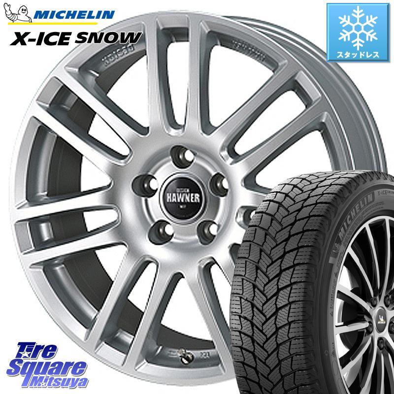 ミシュラン X-ICE SNOW エックスアイススノー XICE SNOWスタッドレス 正規品 195/65R15 Japan三陽 HAWNER W07 ホイールセット 15インチ 15 X 6.0J(VW) +47 5穴 112