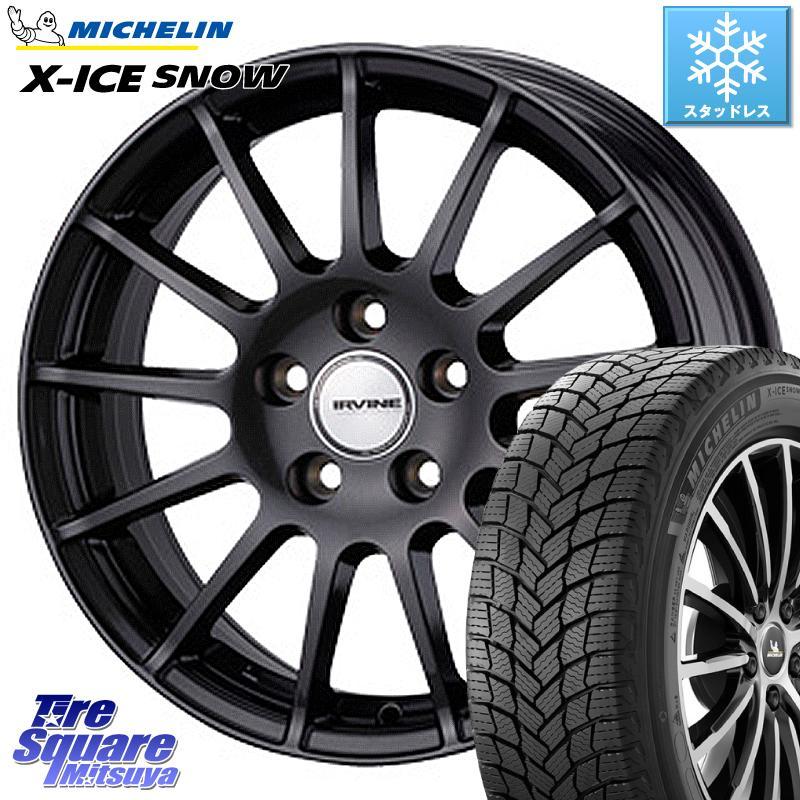 ミシュラン X-ICE SNOW エックスアイススノー XICE SNOWスタッドレス 正規品 185/65R15 WEDS IR56038MG ウェッズ IRVINE F01 ホイールセット 15インチ 15 X 6.0J(VW) +38 5穴 100