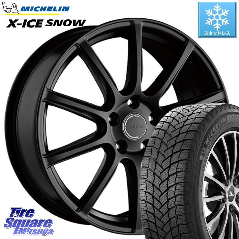 8 20はお盆明け初売りセール ミシュラン X-ICE SNOW エックスアイススノー XICE SNOWスタッドレス 正規品 245 40R18 ブリヂストン ECOFORM エコフォルム CRS131 ホイールセット 18インチ 18 X 7.5J B