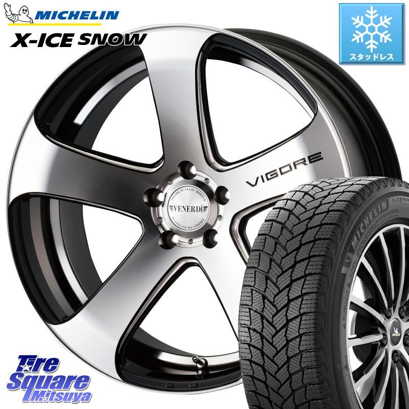 8 20はお盆明け初売りセール アコード ミシュラン X-ICE SNOW エックスアイススノー XICE SNOWスタッドレス 正規品 235 45R18 コスミック VENERDI ヴェネルディ VIGORE ホイールセット 18インチ 18 X 7.