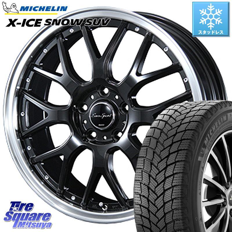 CR-V 3 15はエントリーで最大25倍 取付対象 ミシュラン X-ICE 秀逸 SNOW エックスアイススノー SUV XICE SUVスタッドレス 正規品 235 BLEST Type815 Eurosport 114.3 5穴 +53 17インチ 7.0J 売り込み 17 ホイールセット X 65R17