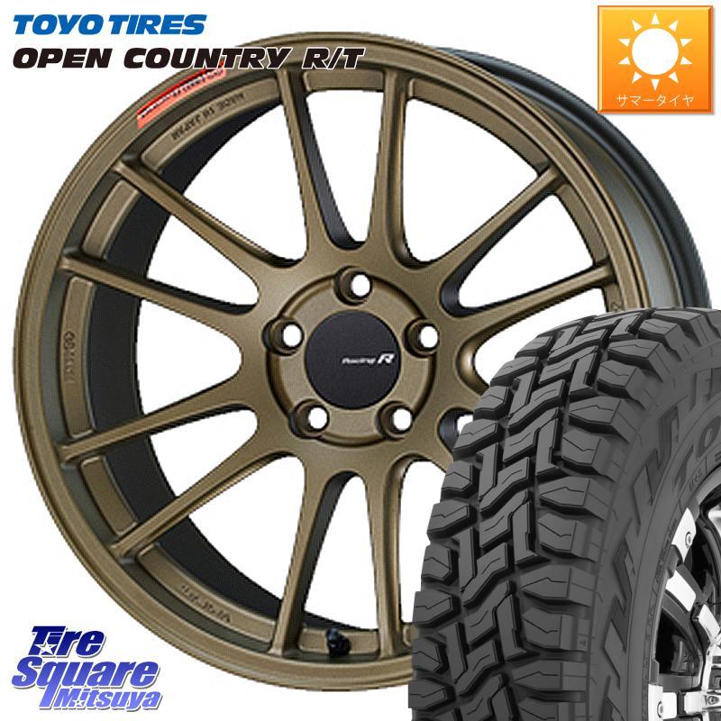 エクリプスクロス 3 おすすめ特集 15はエントリーで最大25倍 取付対象 ENKEI エンケイ Racing Revolution GTC01RR ホイールセット 18 X 8.5J R TOYOTIRES T オープンカントリー サマータイヤ トーヨー 225 RT 114.3 55R18 予約販売品 +42 5穴