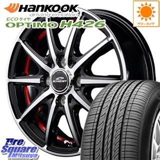 HANKOOK ハンコック OPTIMO オプティモ H426 サマータイヤ 185/65R14 MANARAY SCHNEDER SX-2 ホイールセット 4本 14 X 5.5 +38 4穴 100