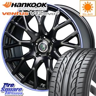 HANKOOK ハンコック ventusV12evo2 ベンタス K120 サマータイヤ 225/35R19 BLEST Bahnsport Type902 ホイールセット 4本 19インチ 19 X 8.5 +45 5穴 114.3