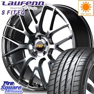 HANKOOK ハンコック Laufenn S Fit EQ LK01 ラウフェン サマータイヤ 225/40R18 MANARAY RMP-028F ホイールセット 4本 18インチ 18 X 7 +50 5穴 100