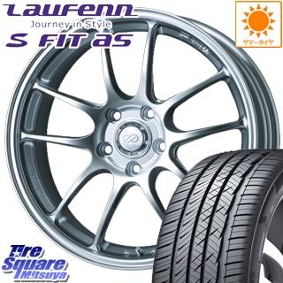 HANKOOK ハンコック Laufenn S Fit AS LH01 ラウフェン サマータイヤ 215/55R17 ENKEI PerformanceLine PF01 ホイールセット 4本 17 X 6.5 +48 5穴 114.3