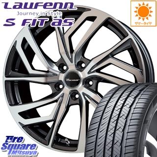 HANKOOK ハンコック Laufenn ラウフェン S Fit AS LH01 サマータイヤ 225/55R17 HotStuff プレシャス Precious C-1 4本 ホイールセット 17 X 7 +48 5穴 114.3