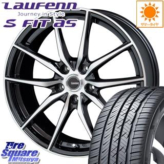 HANKOOK ハンコック Laufenn ラウフェン S Fit AS LH01 サマータイヤ 245/50R18 HotStuff 軽量設計!G.speed P-02 ホイールセット 4本 18インチ 18 X 7.5 +38 5穴 114.3