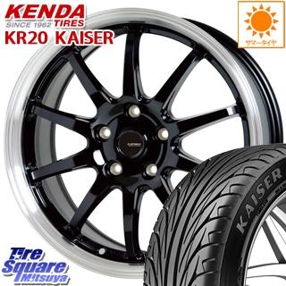 KENDA ケンダ KAISER KR20 サマータイヤ 245/45R18 HotStuff 軽量設計!G.speed P-04 ホイールセット 18インチ 5月末迄特価 18 X 7.5J +38 5穴 114.3