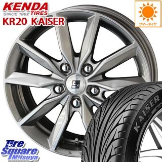 KENDA ケンダ KAISER KR20 限定 サマータイヤ 205/40R17 KYOHO SEIN SV ザインSV ホイールセット 4本 17インチ 17 X 7 +48 5穴 114.3